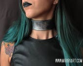 Choker - necklace- fake m...