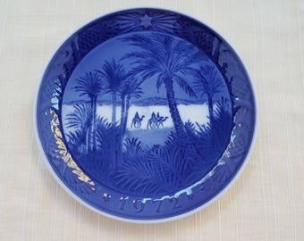 Royal Copenhagen Christmas Plate 1972, Osterland, In the Desert