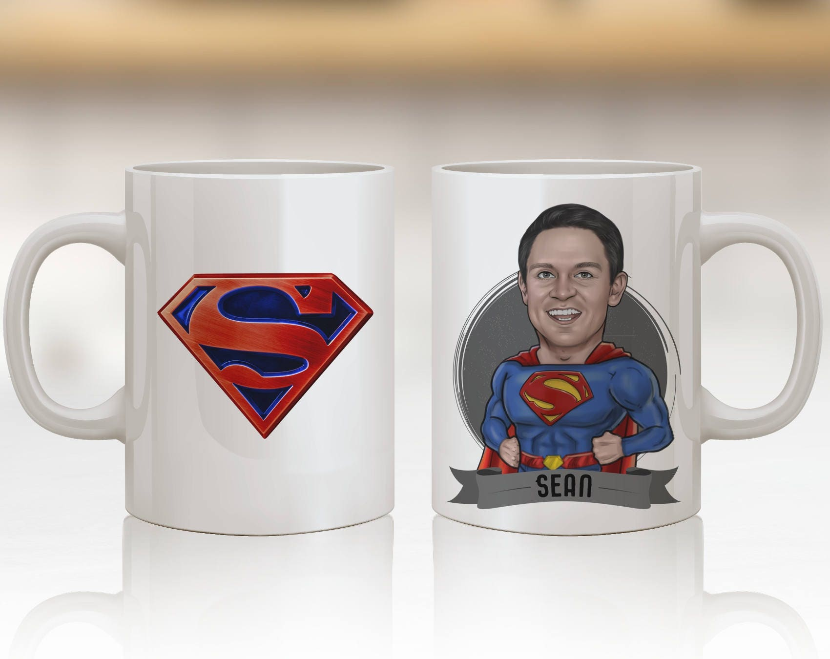 Superman Gift Ideas Superman Art Personalized Superman Mug