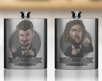 Groomsmen Gift, Groomsmen Flasks, Groomsmen Gifts, Personalized Groomsmen Flasks, Custom Flasks, Flask For Groomsmen, Groomsman Gift