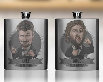 Groomsmen Gift, Groomsmen Flasks, Groomsmen Gifts, Personalized Groomsmen Flasks, Custom Flasks, Flask For Groomsmen, Groomsman Gift