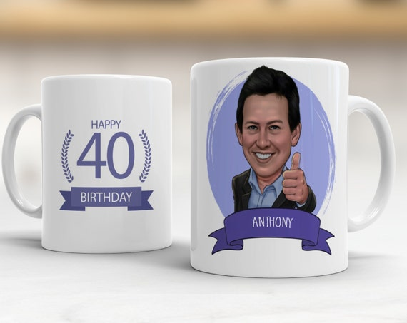 Personalized 40th Birthday Gift Ideas Mug