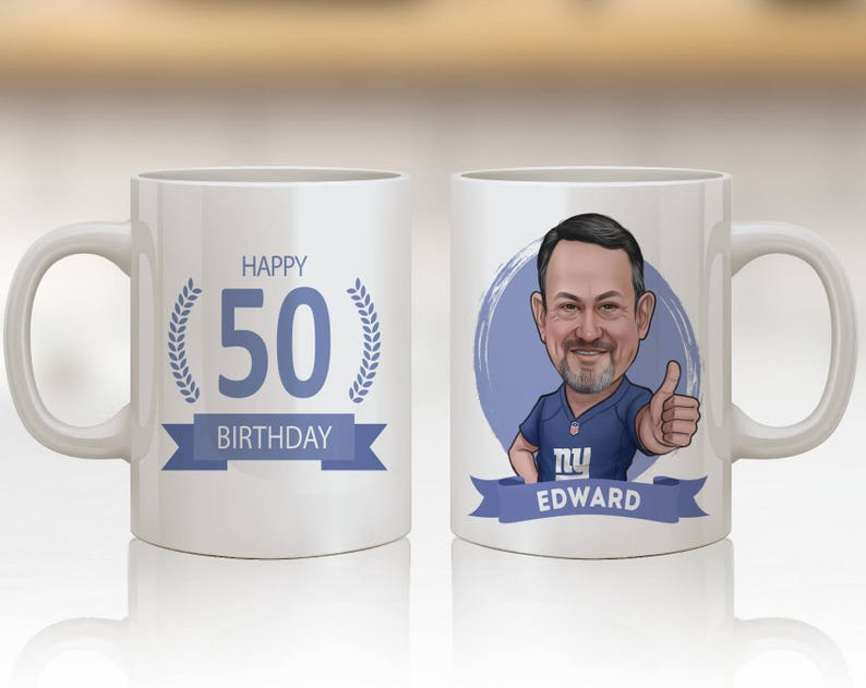 Personalized 50th Birthday Gift Ideas Mug