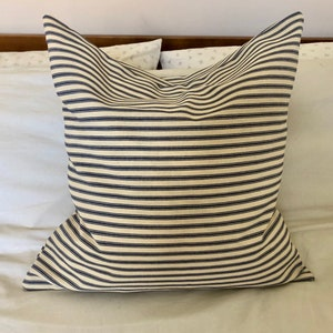 INSERT INCLUDED V14 Shabby Chic French train Burlap Pillow Farmhouse Pillows