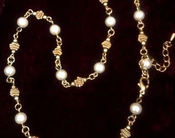 Antique necklace - Art Deco - vintage necklace - antique jewellery - vintage jewellery - pearl necklace - antique jewelry - vintage jewelry