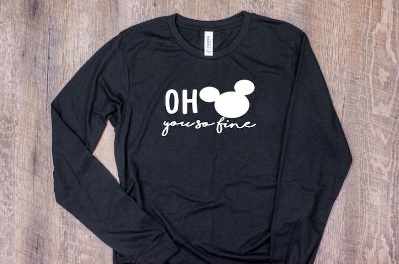 0df23bb7 Oh Mickey you so fine Shirt disney shirt minnie mouse | Etsy