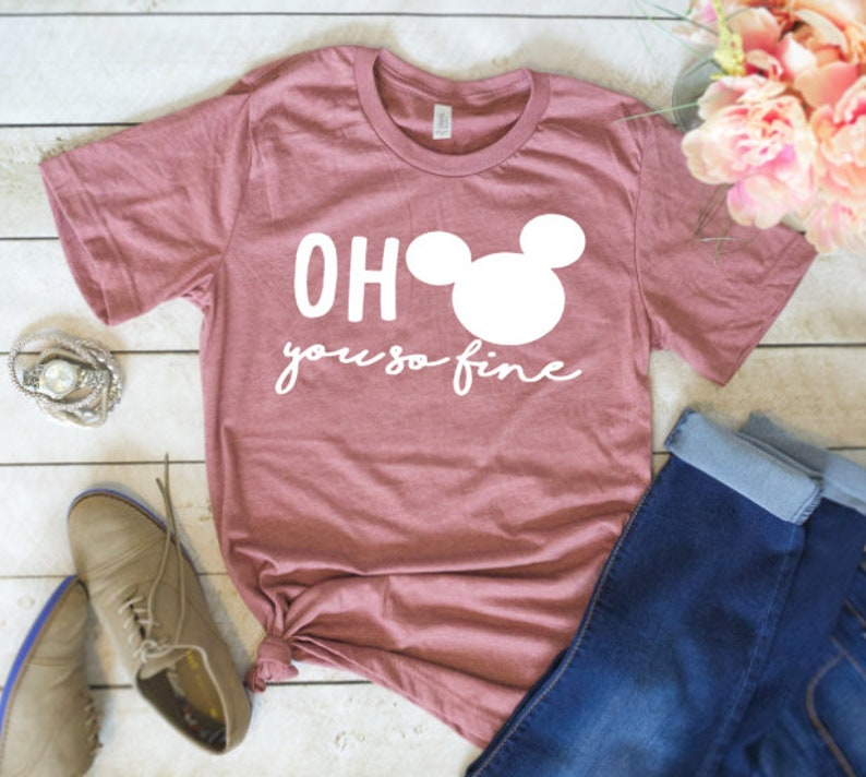 dc574c1a Oh Mickey you so fine Shirt Disney Shirts Mickey Love Shirt | Etsy