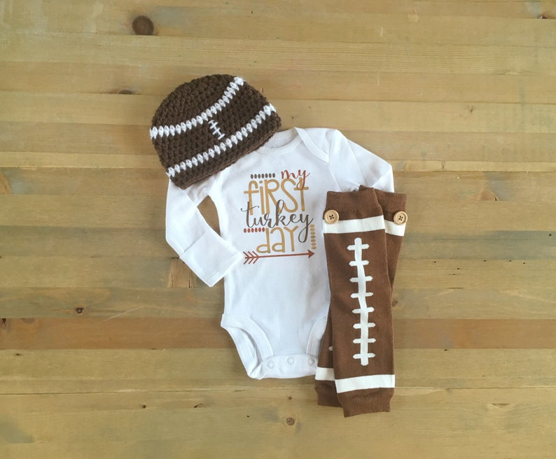 47c85c96a Boys 1st Thanksgiving Outfit My First Turkey Day Baby Boy | Etsy