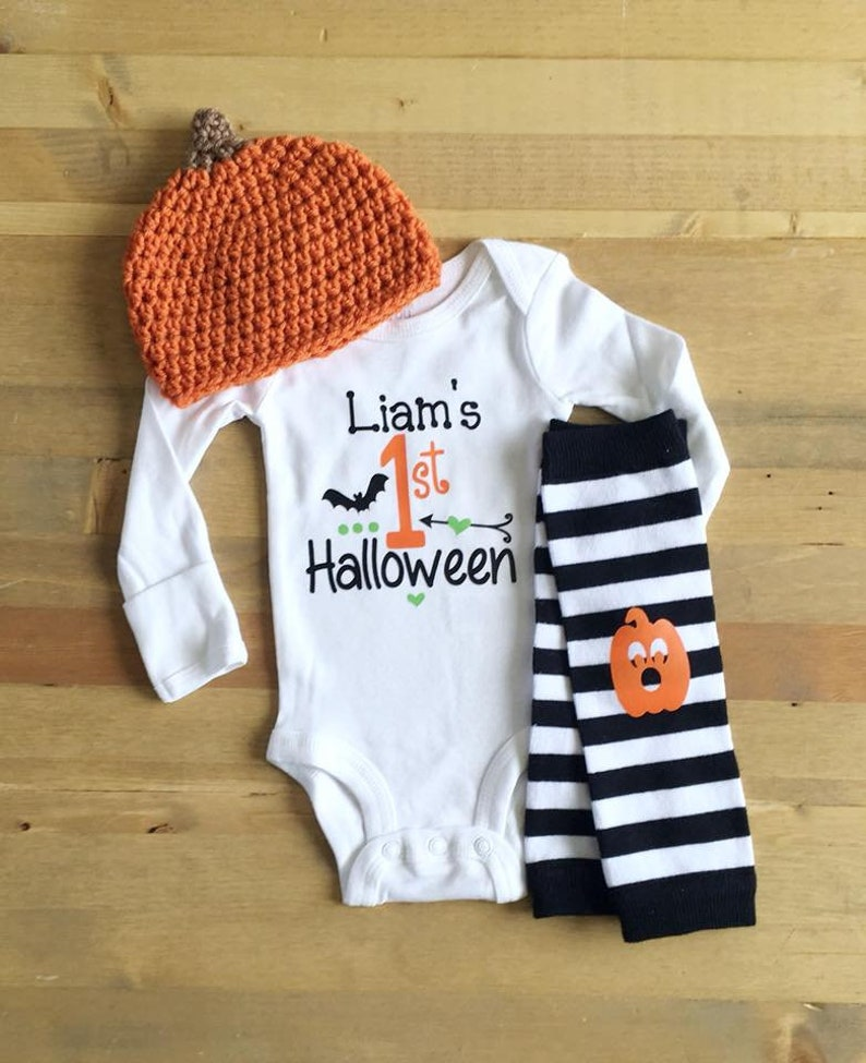 Twins Personalized Halloween Outfits Halloween Twins Twins 1st Halloween Outfit Newborn Boy Girl Twins Newborn First Halloween Outfits