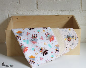 Washable wipes for baby and family, reusable washcloths, washcloths reusable