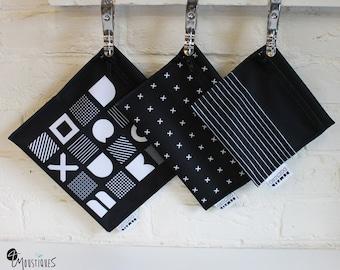 Trio of reusable bags