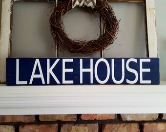 Rustic Wood Lakehouse Sign~Gifts~Rustic Lakehouse Sign~Lake House Sign~Reclaimed Wood Sign~Reclaimed Lakehouse Sign~Lakehouse Decor~Country