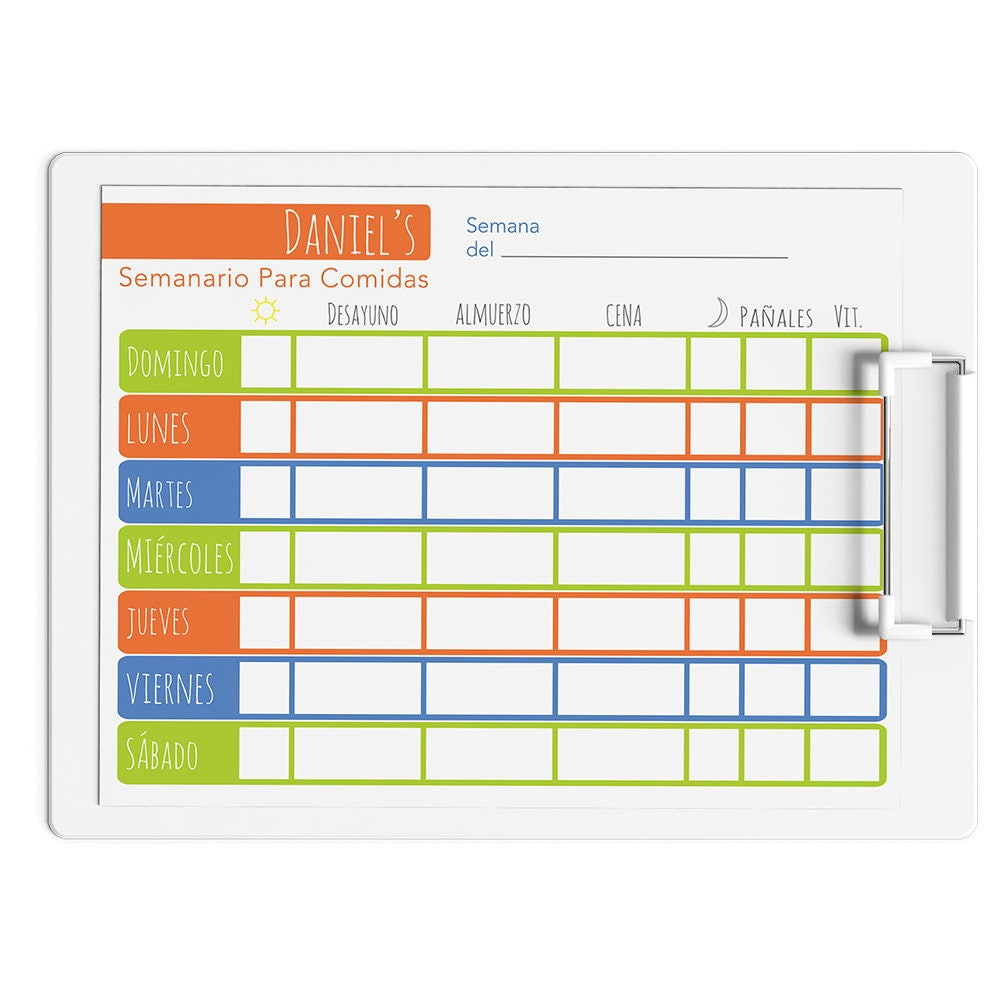 It is an image of Nifty Printable Meal Tracker
