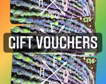 Hed HQ Gift Voucher - E-voucher or Postal option Christmas Birthday Anniversary Gift