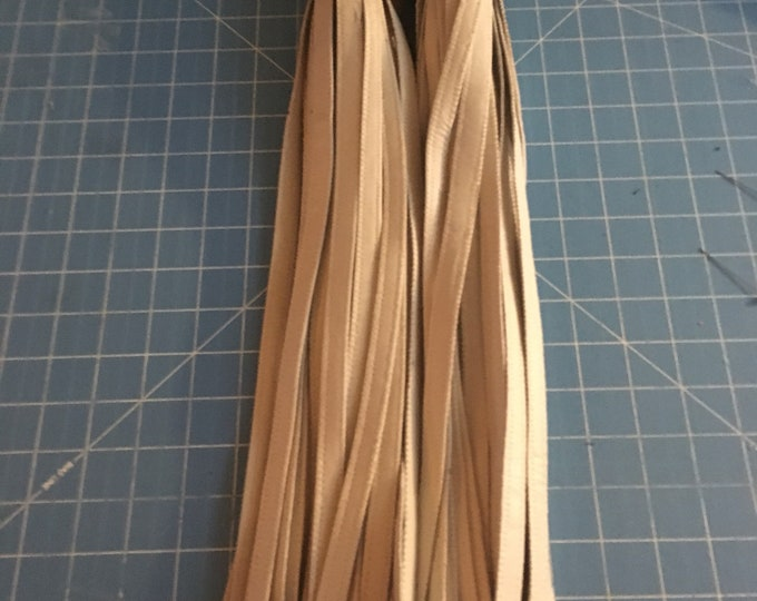 Cream with brown accents finger floggers