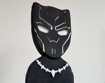 Black panther cake topper / centerpiece