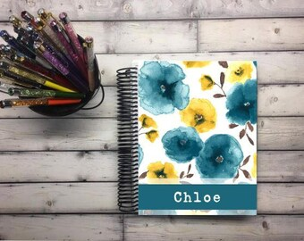 Laminated Planner Covers and Dashboards - In Bloom