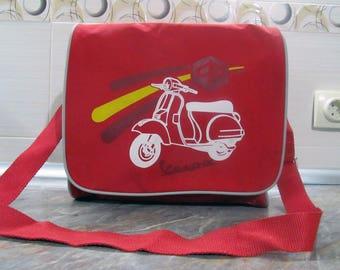 a5a5d6164e Vespa Shoulder Bag Red