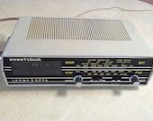 Loewe Opta Sweet-Clock Flip Clock Mid Century Radio Clock Uhren Radio Made in Germany