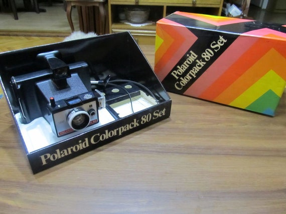 classic camera collectors item! Polaroid Colorpack 80