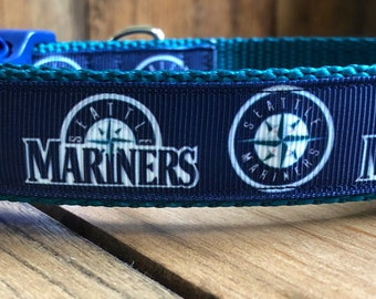 Wet Nose Designs Seattle Sounders FC Hand Made Dog Collar MLS Soccer