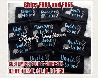 26bed0e92 Customize your baby shower t-shirts , gender revealing t-shirts , it's a  boy family t-shirts , mommy to be t-shirts , daddy to be t-shirt