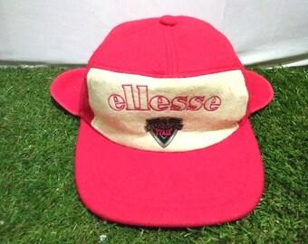 0f1c828104c Rare vintage Ellesse cap with earing cover