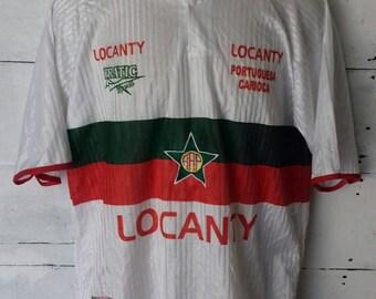 Rare jersey Locanty Portuguesa Carioca by Prantic d6cf5f064