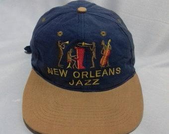 Rare vintage New Orleans Jazz cap adjuster style 24d446b2c005