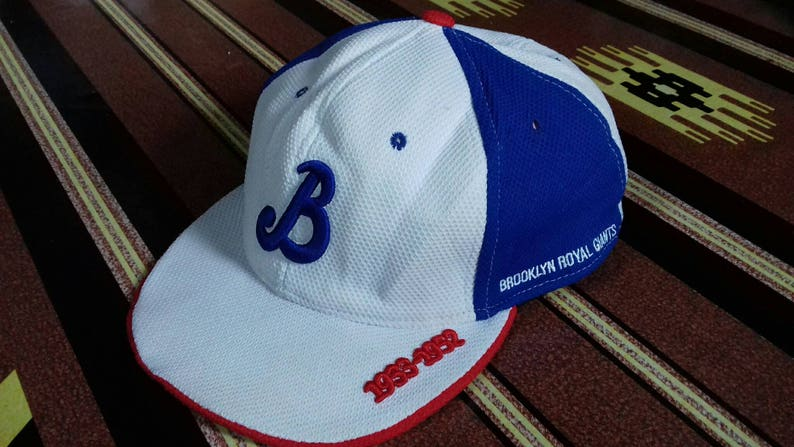 bb08a1e7 Rare vintage Brooklyn Royal Giants 1933-1952 made in usa full   Etsy