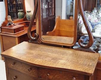 Antique Oak Dresser Etsy