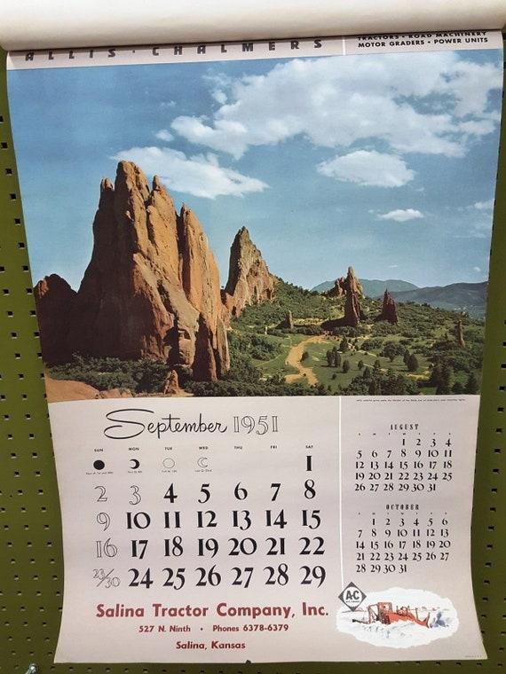 Sexy allis chalmers calendar
