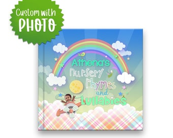Personalized Bedtime book for children, Custom Book with photo & name, personalized baby book, Lullaby Book, Personalized Children's Book