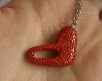 Heart. Necklace.