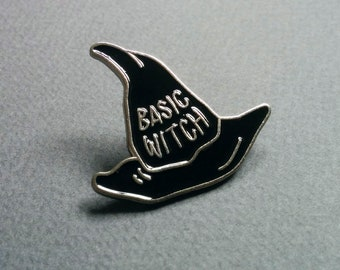 Basic Witch. Pin. Free shipping.