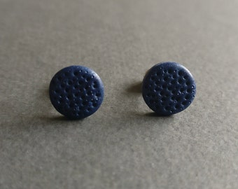 The dot 3. Stud earrings.