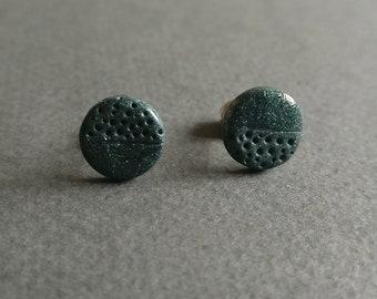 The dot 2. Stud earrings.