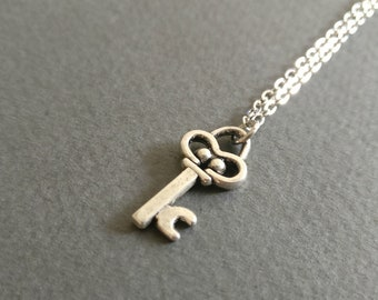 A key ingredient. Charm necklace.
