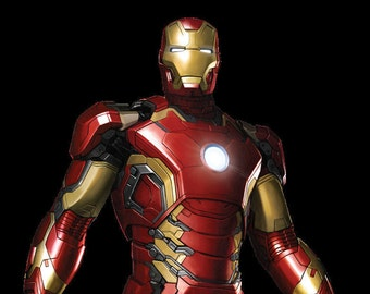 ac992ef87d15f9 3D Printed Full size Mk43 Iron Man suit