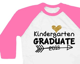Kindergarten Graduation Shirt -  Kindergarten Graduation Gift - Kindergarten Graduate Shirt - Kindergarten Shirt For Girl