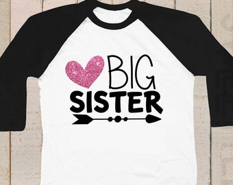 Big Sister Shirt Big Sister To Be Big Sister Gift Etsy
