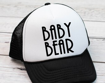 a474c0b7 Kids Trucker Hat , Kids Hat , Birthday Gift Kids , SnapBack Hat For Kids ,  Kids customized hats , kids birthday gifts , Baby Bear Gifts