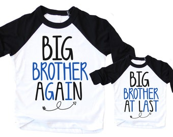 Big brother Again Big Brother At Last Shirts - Big Brother Again Big Brother At Last - Big Brother Again Big Brother At Last Shirt Set
