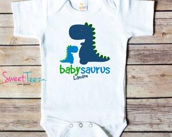 Funny Shirt Brachiosaurus Gift Ideal Romper Bodysuits