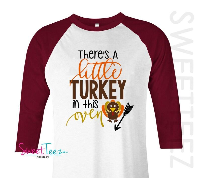 4bca6627 Pregnancy Announcement Shirt Thanksgiving Pregnancy | Etsy