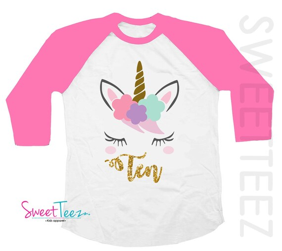 10th Birthday Shirt Girl For