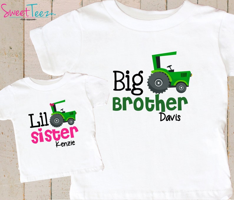 f8839f94 Big Brother Little Sister Shirts Big Brother Shirt Little | Etsy
