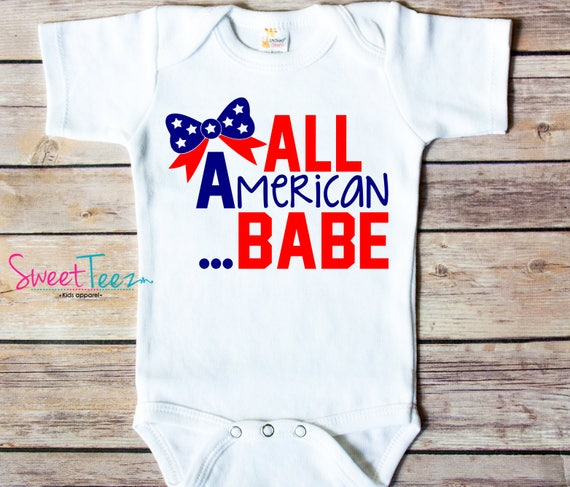 American Bro 4th of July Patriotic Baby Onesie-Toddler Shirt-Cool Dude Onesie-4th of July Toddler Shirt-Independence Day Shirt