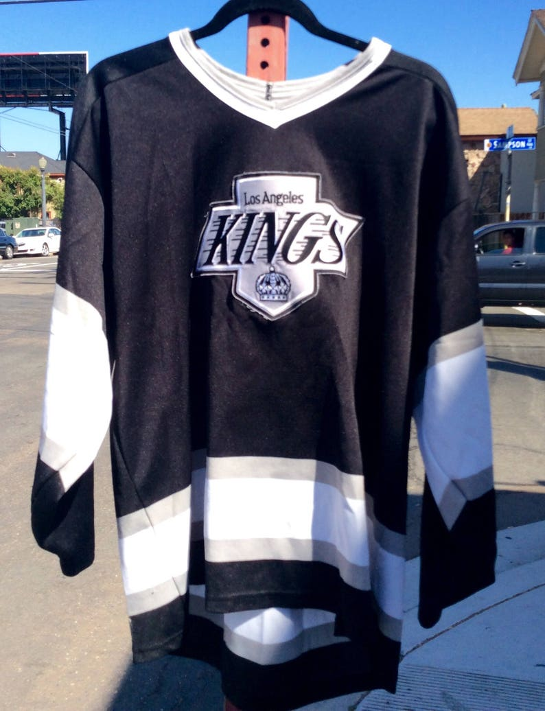 new product be074 f8b7f Vtg L.A. Kings NHL CCM Hockey Jersey sz XL