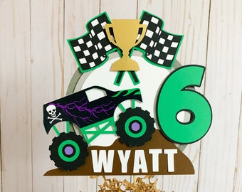 Personalised Acrylic Rally Racing Car Circuit RS Cosworth Birthday Cake Topper Decoration